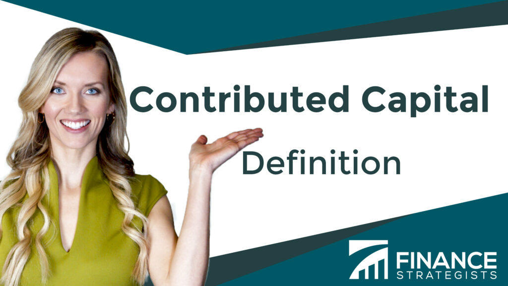 Contributed Capital Definition