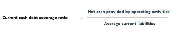 Current Cash Debt Coverage Ratio Formula
