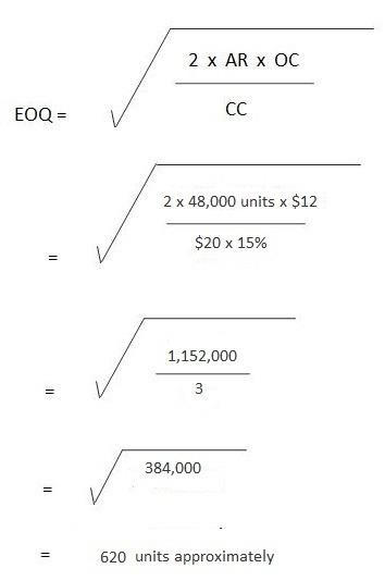 EOQ Practical Problems and Solutions 3