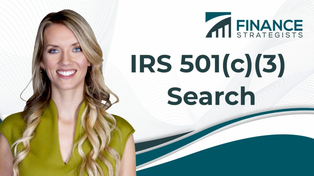 IRS 501(c)(3) Search