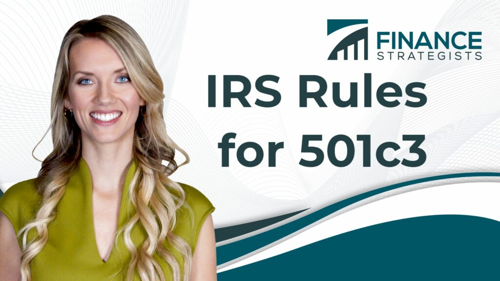 IRS Rules for 501c3